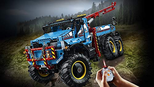 LEGO- Technic Camion Autogrù, Multicolore, 42070 2 spesavip