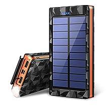 【令和最新版&LEDライト付き】 24000mAh モバイルバッテリー...