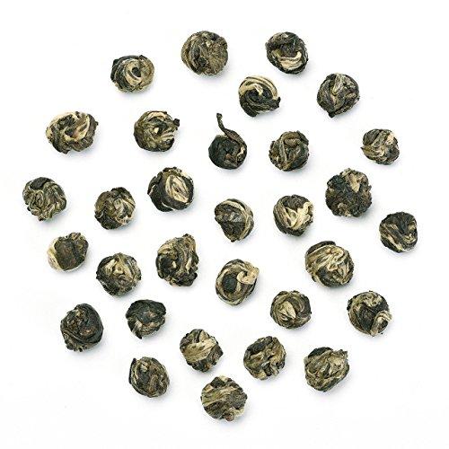 Teavivre Jasmine Dragon Pearls Green Tea Loose Leaf Chinese Tea - 7oz/200g ()