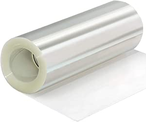 Cake Collar 6 inchX394inch, Acetate Roll Diy Cake Collar Transparent Mousse Cake Sheets Surrounding Edge Clear Cake Strips for Baking Decorate, Chocolate Mousse Cake(4/8inch Available)