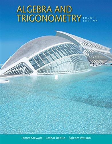 Algebra and Trigonometry (MindTap Course (Ocean Unit Study)