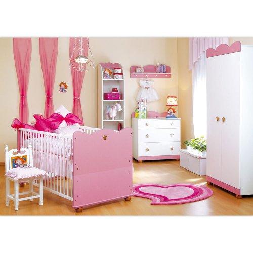 Prinzessin Babyzimmer babyzimmer kleiner prinz kleine prinzessin 7 tlg blau amazon de