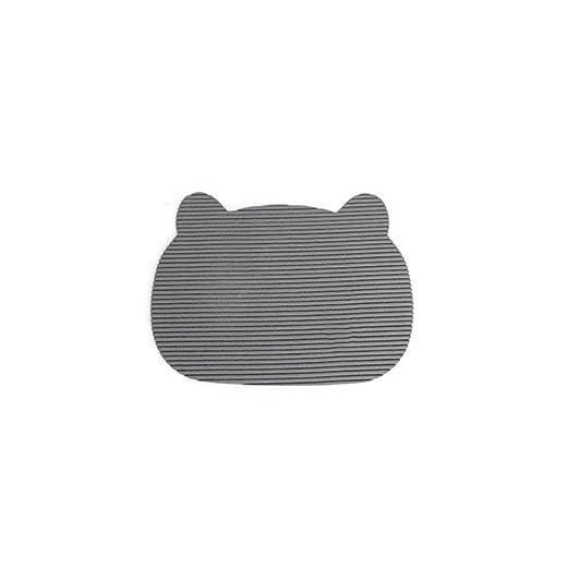 Kasit gato dispersa Alfombrilla Antideslizante para gatos Alfombrilla para baños de gato gatos de soporte acolchado para gatos y mascotas pequeñas: ...