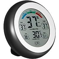 KKmoon C/CF Digital Thermometer Hygrometer Temperature Humidity Metre Max Min Value Trend Display