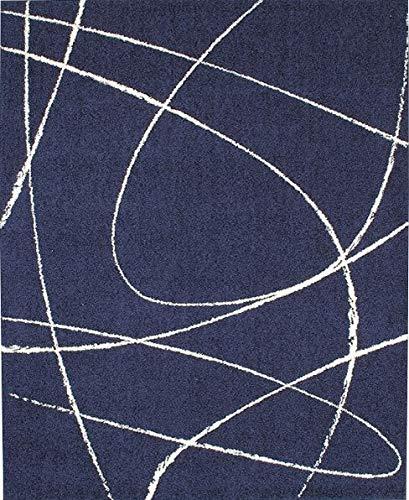 プレーベル ジーン 190×240 日本製 夏ひんやり 冬あったか ホットカーペット可 (ダークブルー)  ダークブルー B07KBZVQ3P