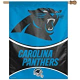"Carolina Panthers NFL Vertical Flag (27""x37"")"