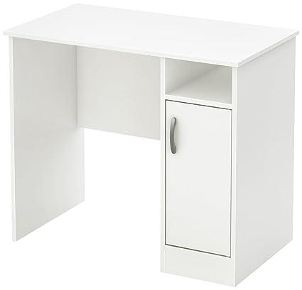 South Shore Axess Work Desk Small Pure White