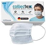 Vileda-Collectex-Mund-Nasen-Masken-aus-Vliesstoff-20-Stck-3-lagige-Einwegmasken