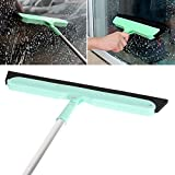 RedSonics(TM) Multifunction Floor Mop Windows Glass Wiper Scraper Squeegee Mop Kitchen Bathroom Cleaner Scraper Mop