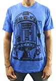 Star Wars Men's R2-D2 R2D2 T-Shirt (Medium, Blue Heather) for sale  Delivered anywhere in USA