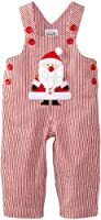 Mud Pie Baby Boys' St. Nick Overalls