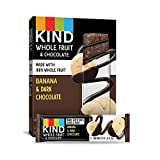 Pressed by KIND Fruit Bars, Chocolate Banana, No Sugar Added, Non GMO, Gluten Free, 1.34 Ounce (24 Count)
