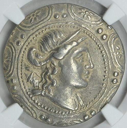- MK Macedon 2nd Century BC Ancient Macedonian Antique Silver Coin AR Tetradrachm Choice Very Fine NGC