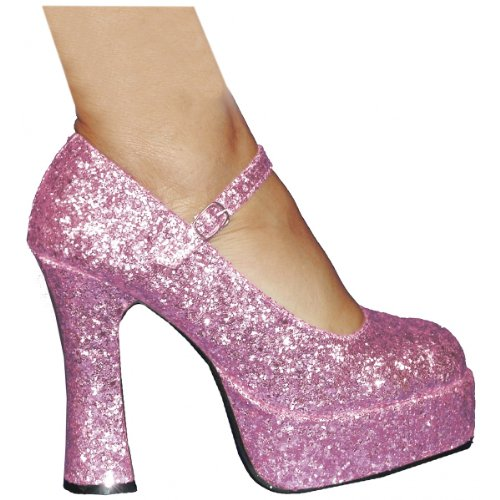 Eden-G-557 Adult Costume Shoes Pink - Size 9 by Ellie Shoes