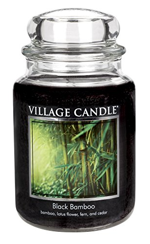 Village Candle Black Bamboo Scented