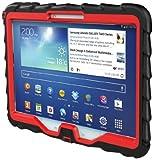Gumdrop Cases for 10-Inch Samsung Galaxy Tab 3 – Drop Series – Black/Red (DT10-SAM3-BLK-RED), Best Gadgets