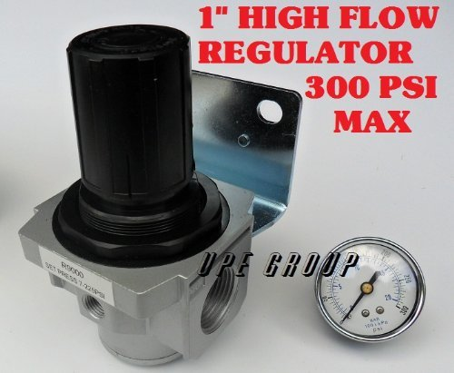 (Air Pressure Regulator HIGH FLOW HEAVY DUTY for compressor compressed air 1