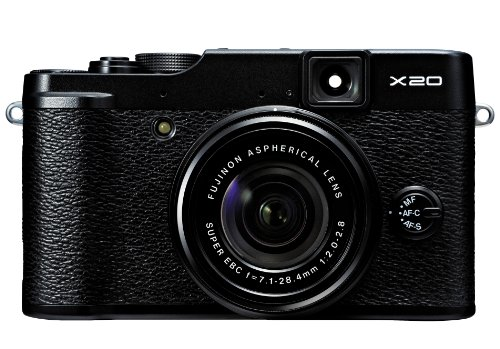 Fujifilm X20 12 MP Digital Camera with 2.8-Inch LCD (Black) ()