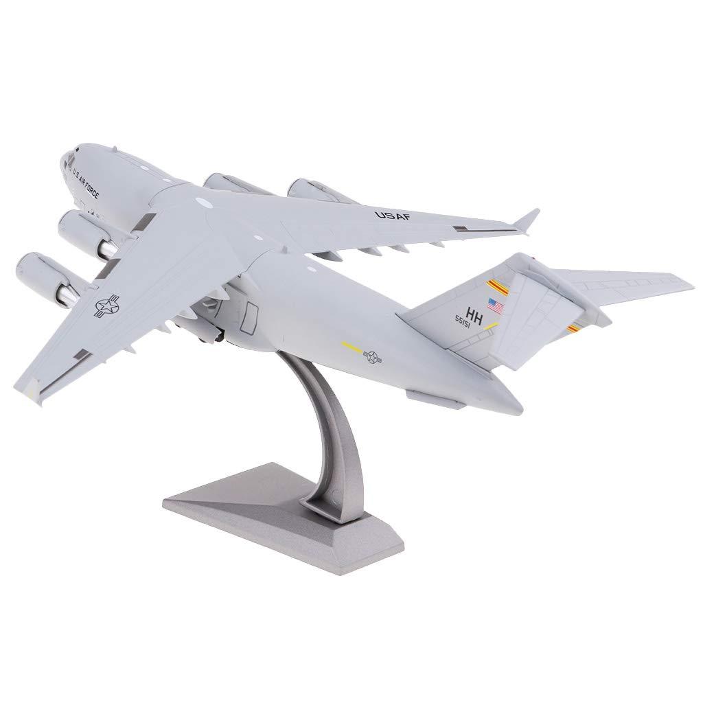 Baoblaze Baoblaze Baoblaze 1: 200 C-17 Metall Flugzeugmodell Transport F lugzeuge Dekoration Spielzeug 971cb1