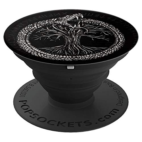 Ouroboros with Tree of Life - PopSockets Grip and...