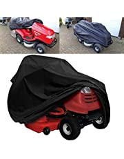 """Rijdende grasmaaier Cover Waterdichte Gazon Tractor Cover Waterbestendig Cover voor Ride on Garden Tractor (72* 54* 46"""")"""