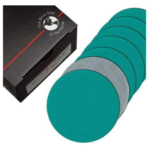 5''-220 Grit - PSA Disc on Roll - Q711T Film - DOR - Premium (Pack of 100)