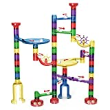 dOvOb Marble Run Toy - Marble Game STEM Educational Learning Toy | Construction Building Blocks | Marble Set Gift for Kids 4 5 6 7 8 + Year Old Boys | Girls