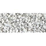 Graniglia ornamentale di marmo Bianco Carrara 8/12 mm 10 kg sassi per giardino