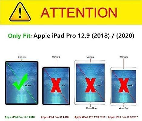 J&D Compatible para Apple iPad Pro 12.9 Inch 2018 / iPad Pro 12.9 Inch 2020 Protector de Pantalla, 1-Paquete [Vidrio Templado] [NO Cobertura Completa] Cristal Templado Protector de Pantalla: Amazon.es: Electrónica