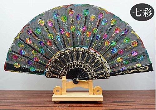 Waymeduo Faltfächer Peacock Modell