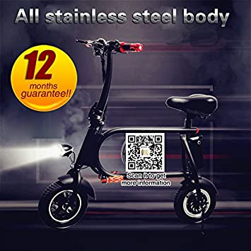 Yoli® Mini Electric Bike, bicicleta plegable, E-Bike, bicicleta, fácil