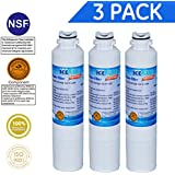 Icepure RWF0700A 3PACK Refrigerator Water Filter Compatible with Samsung DA2900020B, DA2900020A
