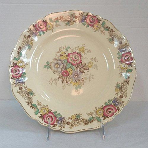 Vintage J&G Meakin Sunshine Ware 10 inch Dinner Plate, 1940-1963, Pilgrim Pattern