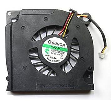 Dell C169M Ventilador de CPU refacción para notebook - Componente para ordenador portátil (Ventilador de CPU, Latitude D620, D630, Inspiron 1525, 1526, ...