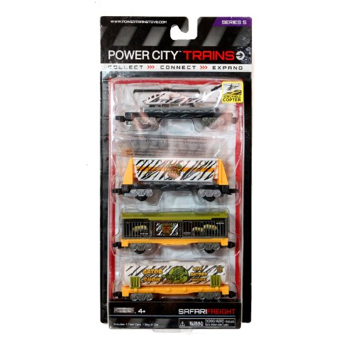 Jakks Pacific Year 2013 Power City Trains Series 4 for sale  Delivered anywhere in USA