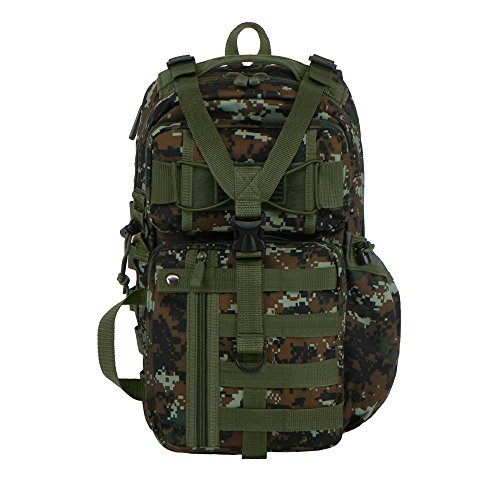 East West U.S.A RT525 Tactical Molle Assault Sling Shoulder Cross Body One Strap Backpack