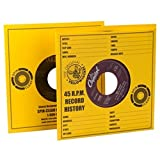 Spin-Clean Yellow Jacket Record Sleeves - Qty. 100