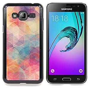 For Samsung Galaxy J3 - pastel colors teal art /Modelo de la piel protectora de la cubierta del caso/ - Super Marley Shop -