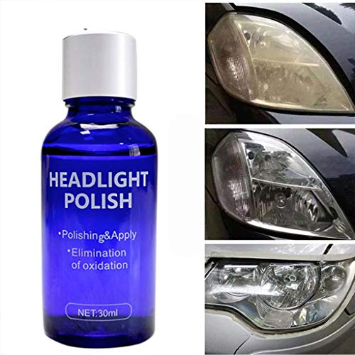 C-Easy Scratch Swirl Remover Hardness Headlight Polish Liquid- 1 Set 9H High Density Headlight Polish Liquid Cars Restoration Fluid Durable Car Repair - Ultimate Car Scratch Remover