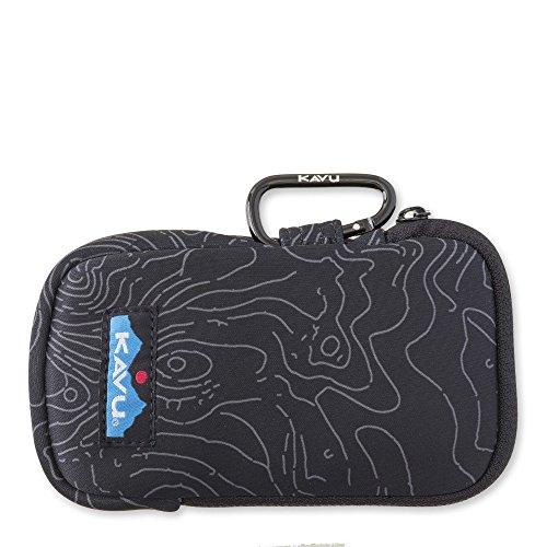 KAVU Phone Home Bag, Black Topo, One Size