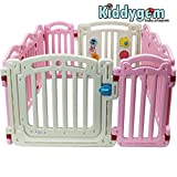 Kiddygem 10 Panel M7 Extra Tall Baby Playpen, Pink Review