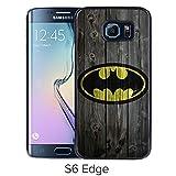 Durable and Fashionable Case Design with Batman 10 Samsung Galaxy S6 Edge Black Phone Case
