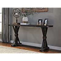 Beckendorf Black Color Casual Sofa Table