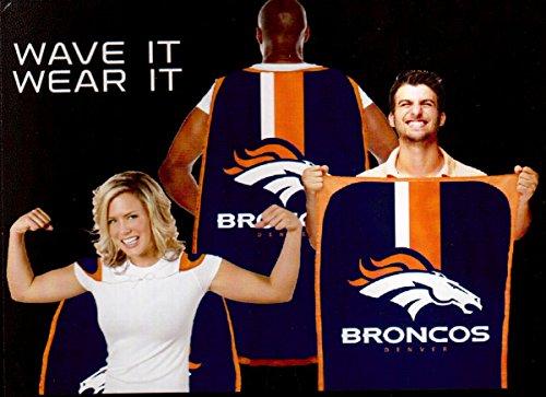 Denver Broncos Fan Cape