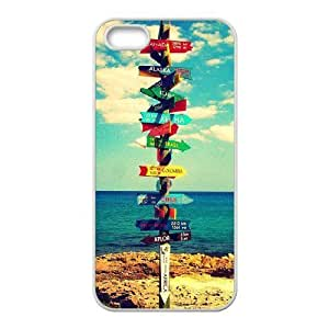 Let's Escape Discount Personalized Cell Phone Case for iPhone 5,5S, Let's Escape iPhone 5,5S Cover
