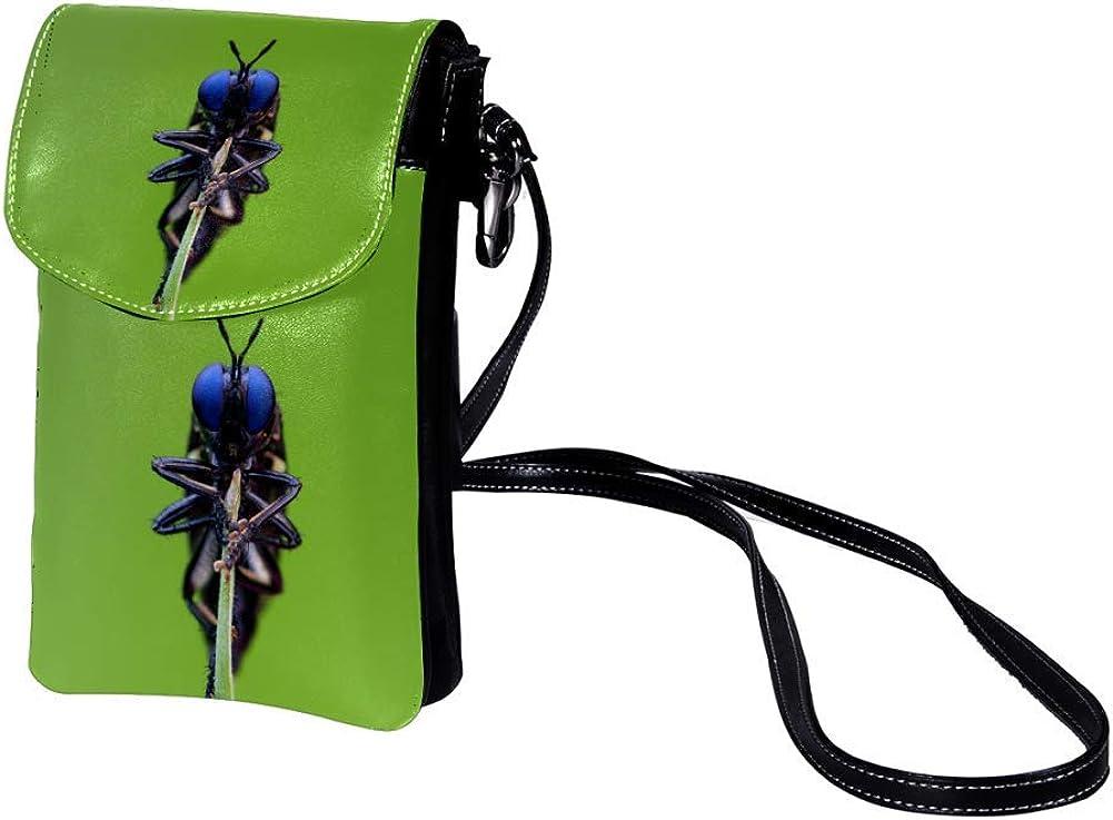 small crossbody bag for women and men,anti theft shoulder bags zip bag crossbody Cute 7x1.8 inch