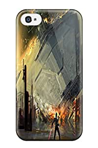 New Arrival Iphone 4/4s Case Star Wars Digital Art Artwork Case Cover