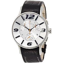 NOA watch 16.75 Silver Dial Quartz Chronograph G002 Men's [regular imported goods]