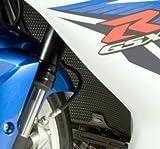 R&G(アールアンドジー) ラジエターガード ブラック GSX-R750(K6-L2) GSX-R600(K6-L2) RG-RAD0066BK
