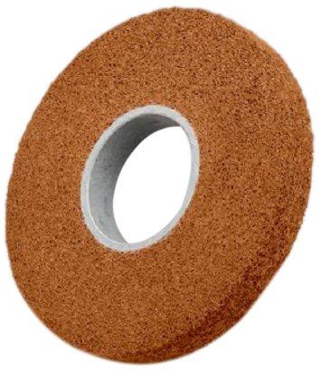 Scotch-Brite Cut and Polish Wheel, Aluminum Oxide, 4500 rpm, 8'' Diameter x 2'' Width, 3'' Arbor, 7A Medium Grit (Pack of 2) by Scotch-Brite